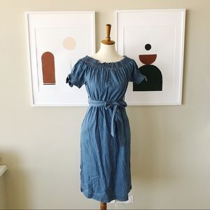 NWT J.Crew Chambray Dress Size 4